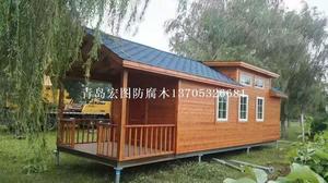 黄岛木屋 木别墅
